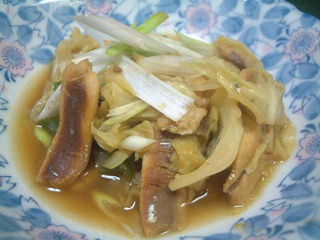 鰯と野菜のくたくた煮