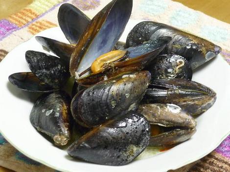ムール貝の酒蒸し